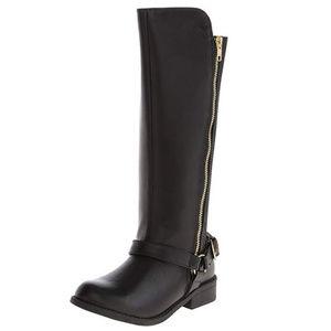 Steve Madden Jkokie Girls Tall Boots Size 3 Black